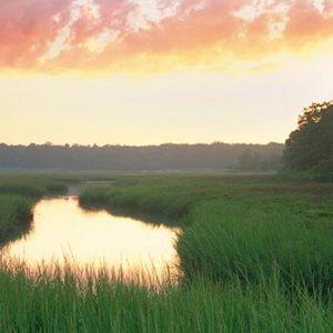 Summer Dusk, Weir River